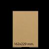 Sobre de papel Kraft 162x229