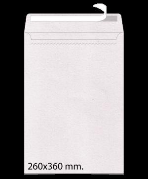 Sobre de papel Reciclado 260x360