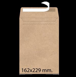 Sobre de papel verjurado 162x229