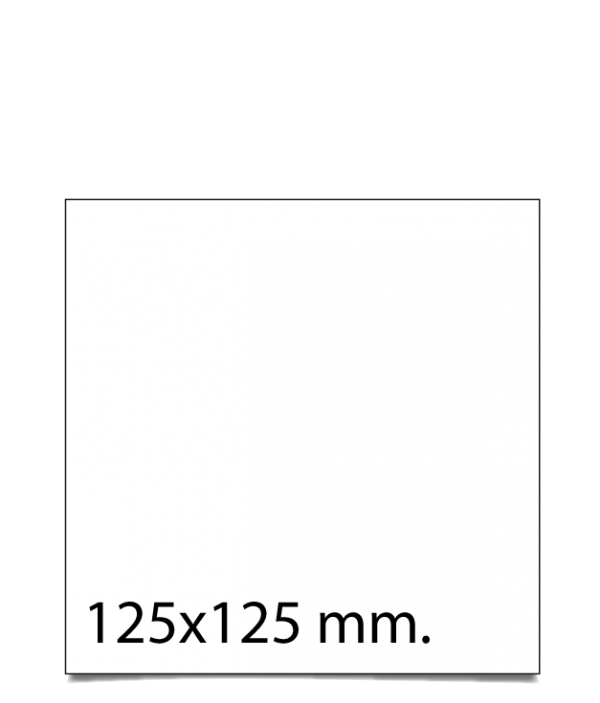 Sobre cuadrado 125x125