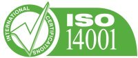 Empresa verde ISO 14001 con impresión de sobres certificación