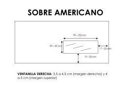 sobre americano