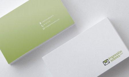 Tipografías en la impresión de sobres portada