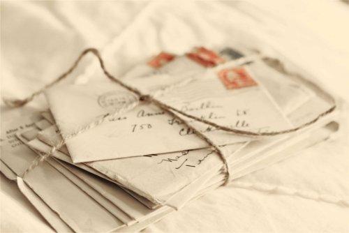 historia de la impresión de sobres cartas antiguas