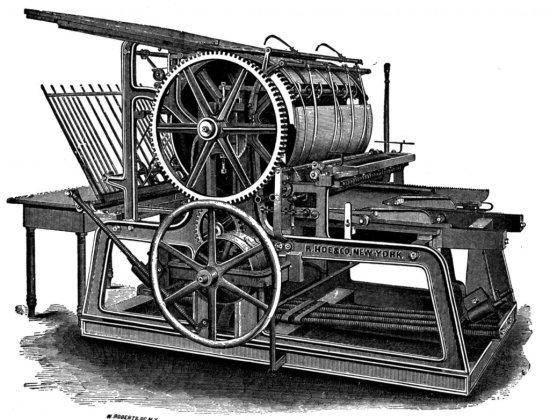 Los sobres impresos y la historia del papel imprenta