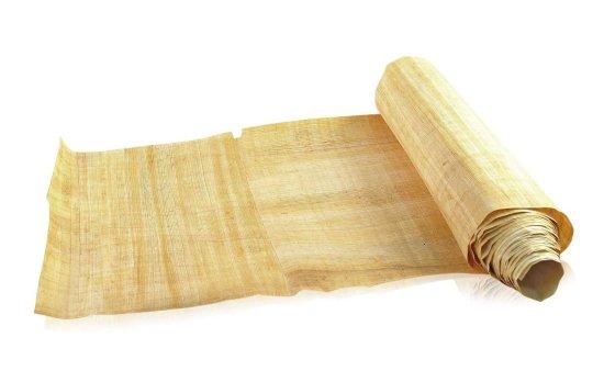 Los sobres impresos y la historia del papel papiro