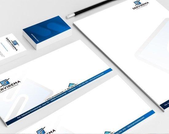 Sobres impresos personalizados con logotipo imagen sólida