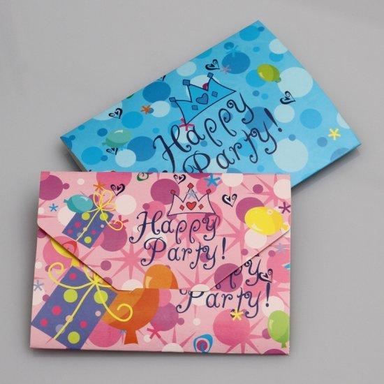 sobres impresos para cumpleaños felicitación