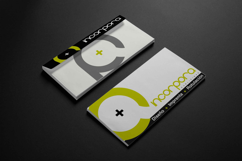 El diseño de sobres impresos portada