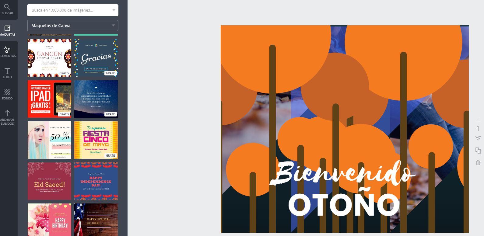 Programas online para diseñar tus sobres impreso canva