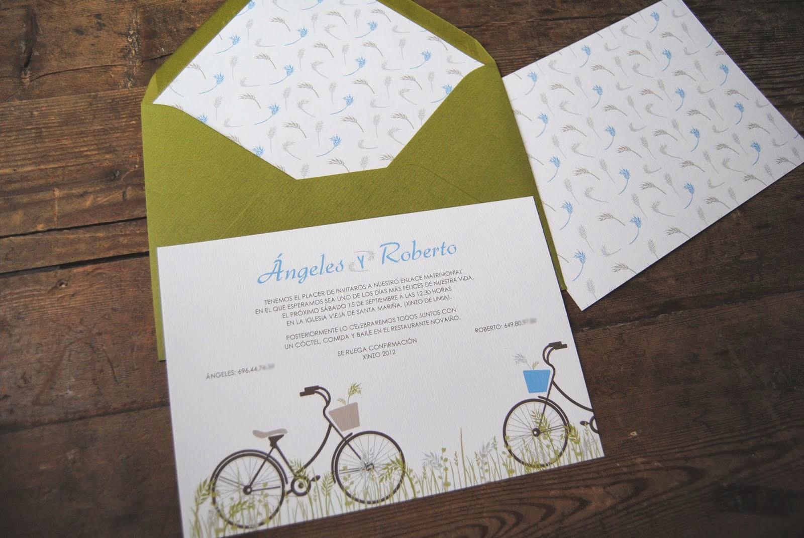 sobres impresos para invitaciones de boda invitaciones